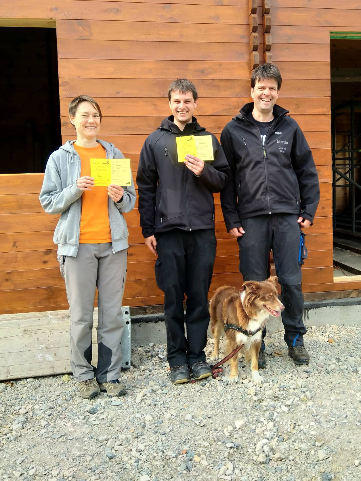 2 neue Trainer im Rally-Obedience